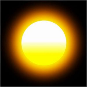 Sun Helios, the source of warmth and vitality