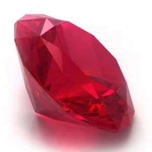 Ruby Spirit, the energy to transform all your weaknesses